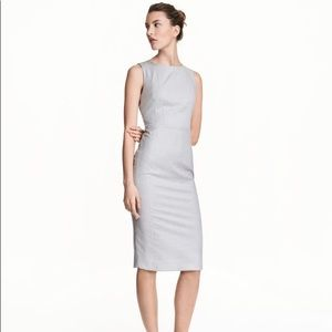 H&M Fitted Business / Office Midi Dress